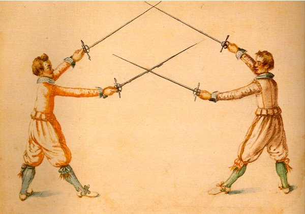 Heredia's case of rapiers